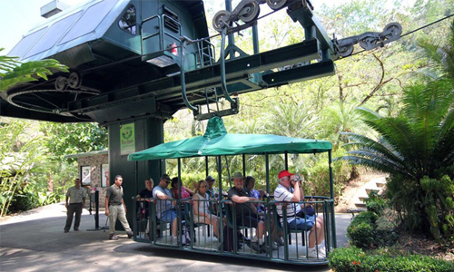 Aerial Tram Tours in Costa Rica