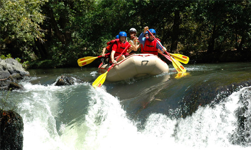 Costa Rica White Water Rafting Tours
