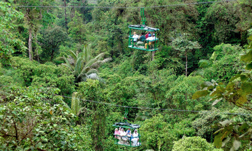 Costa Rica rainforest Tram Tour