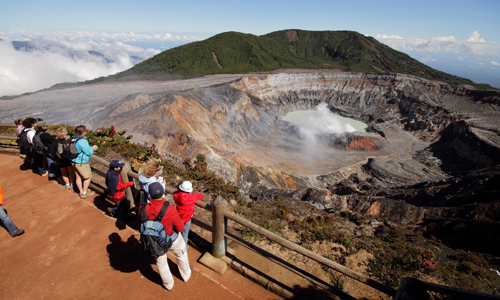Poas volcano tours in costa rica