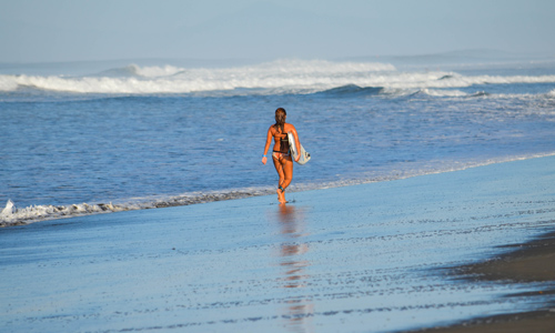 Surfing Jaco Beach Costa Rica