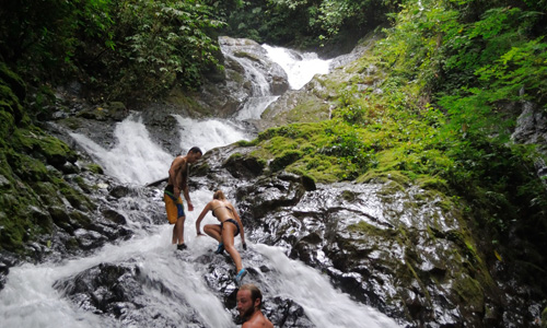 Waterfall explorer tour in costa rica