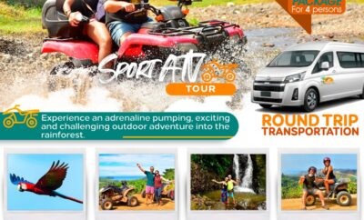 Special Package for 4 persons! (with ATV)