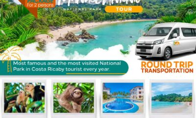 Special Package for 2 persons! (Manuel Antonio National Park)
